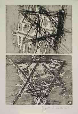 Boris Lurie: Davidsterne 1962